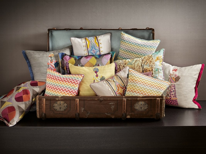 Zimmer and Rohde Cushions